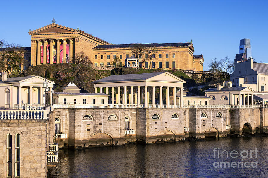The Fairmount Water Works And Art Museum Photograph