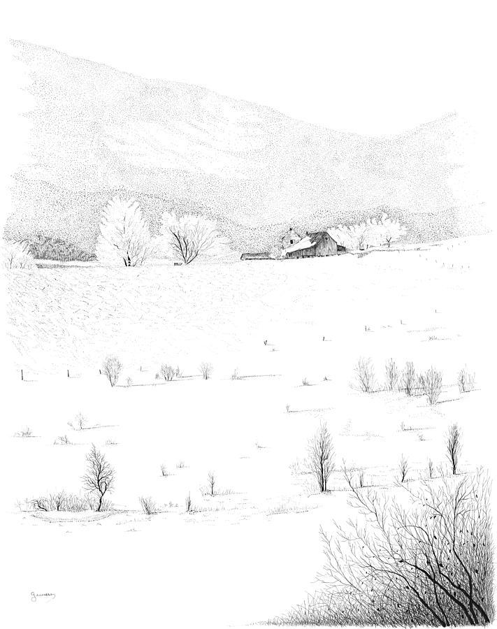 The Farm Drawing