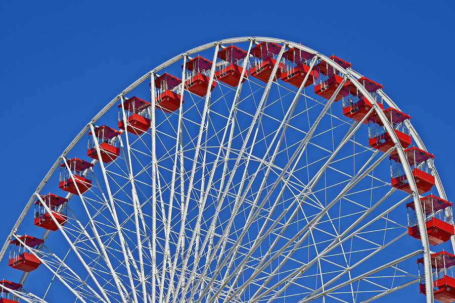 The Ferris Wheel Chicago Photograph