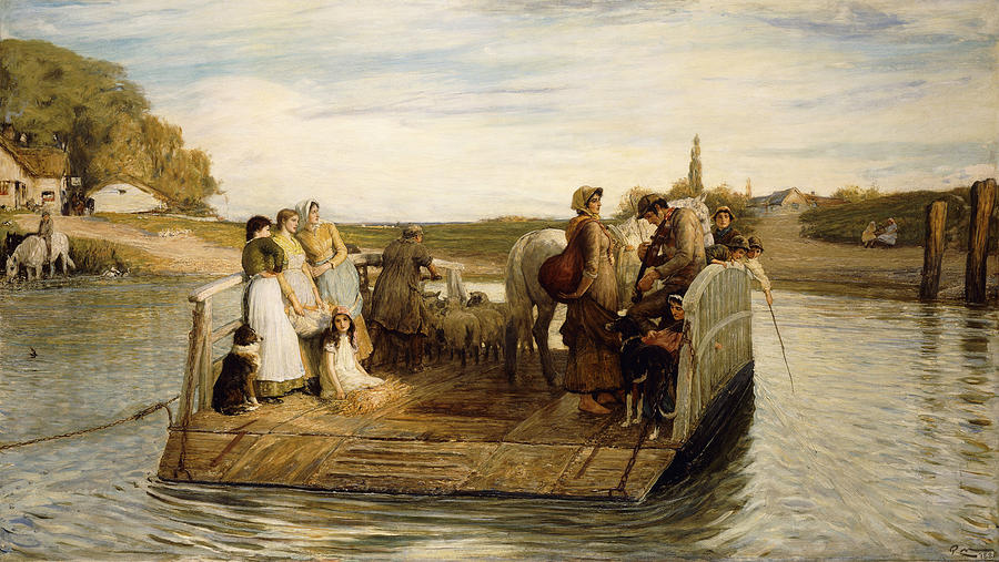 The Ferry Painting