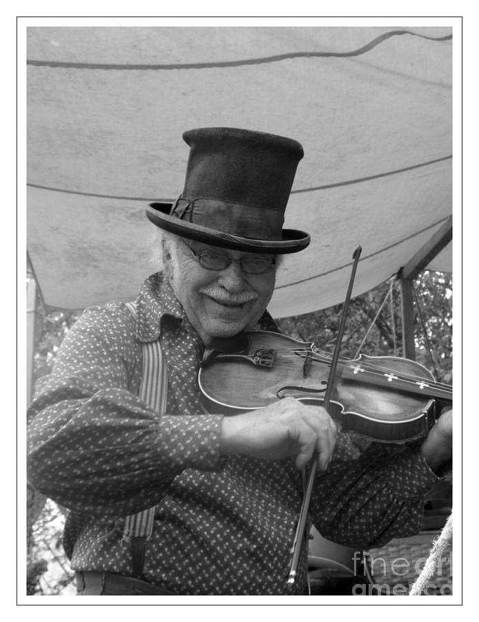Fiddler Photograph - The Fiddler by Sara  Raber