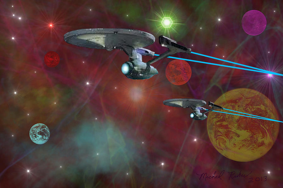 The Final Frontier Digital Art