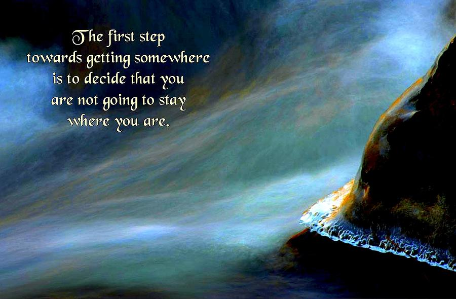 The First Step Photograph