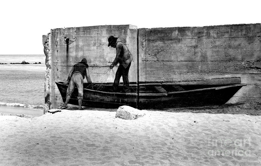 The Fishermen And The Sea... Photograph