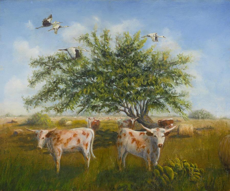 The Flatlanders Painting