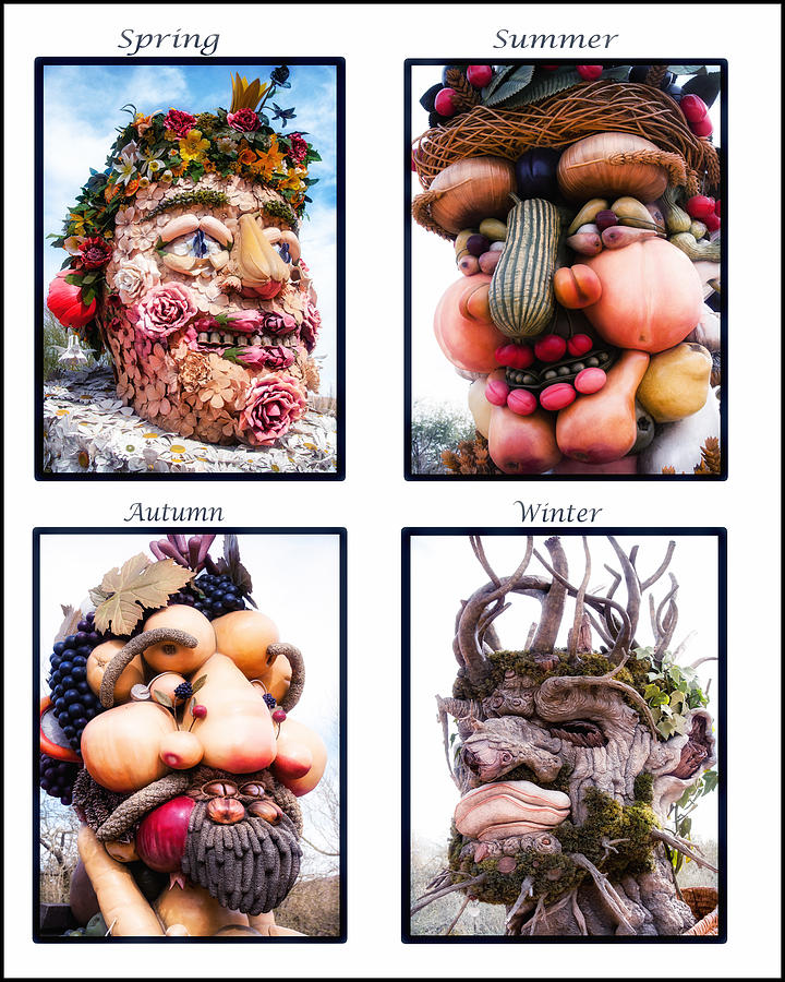 The Four Seasons Photograph  - The Four Seasons Fine Art Print