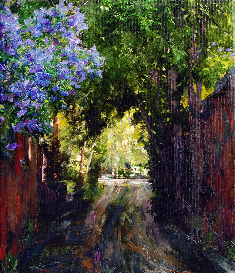 The Fragrant Passage Painting  - The Fragrant Passage Fine Art Print