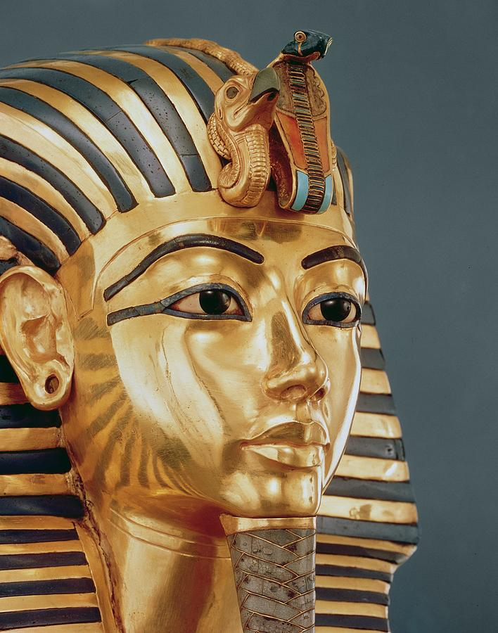 The Funerary Mask Of Tutankhamun Sculpture