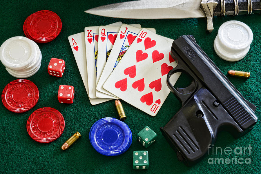 The Gambler Photograph  - The Gambler Fine Art Print