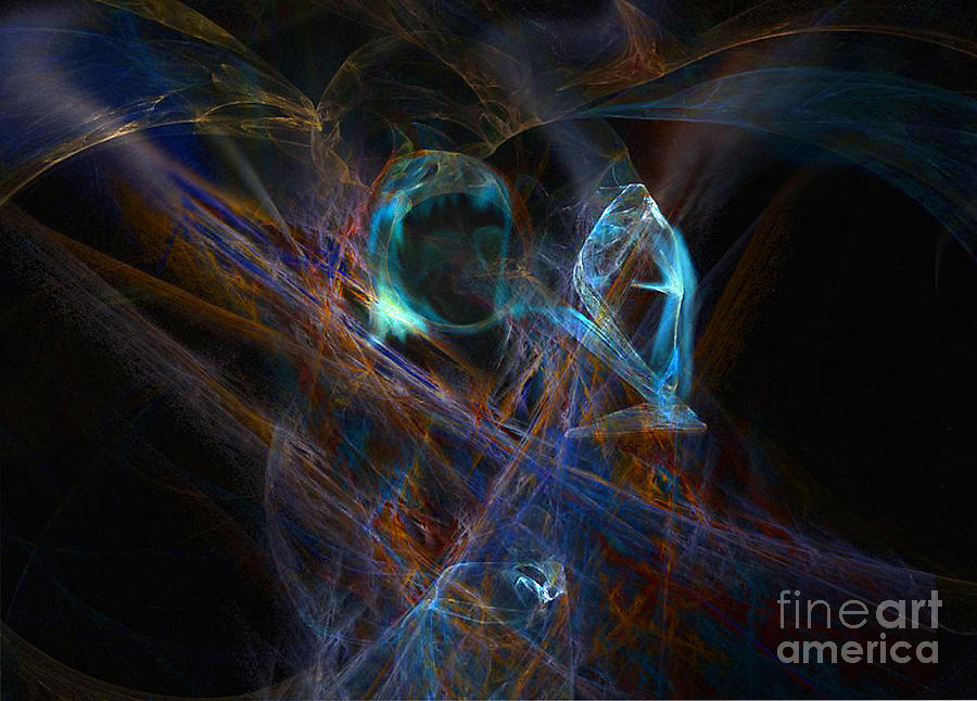 Ghosts Digital Art - The Ghost Of Ancient Times by Lance Sheridan-Peel