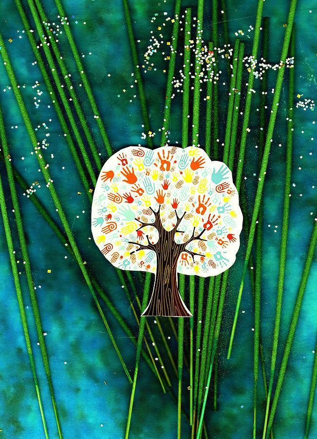 The Giving Tree Mixed Media