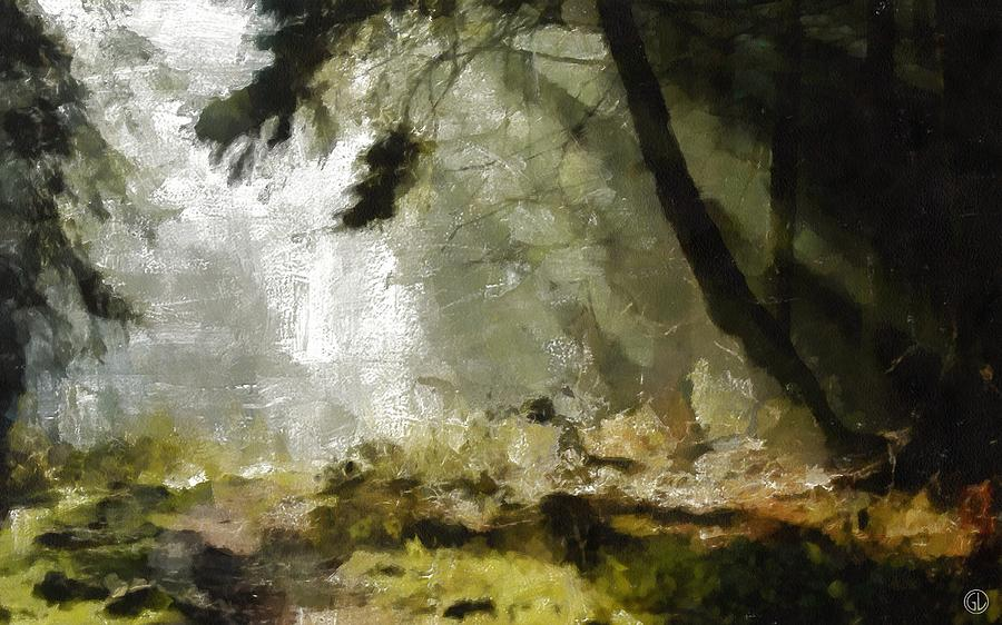 The Glade Digital Art  - The Glade Fine Art Print