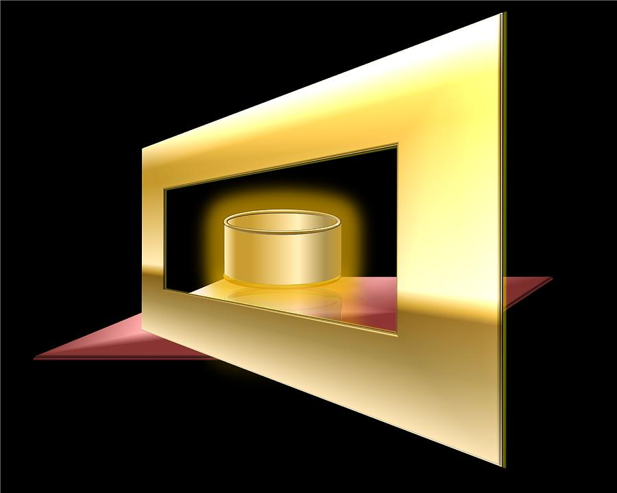 Can Digital Art - The Golden Can by Cyril Maza