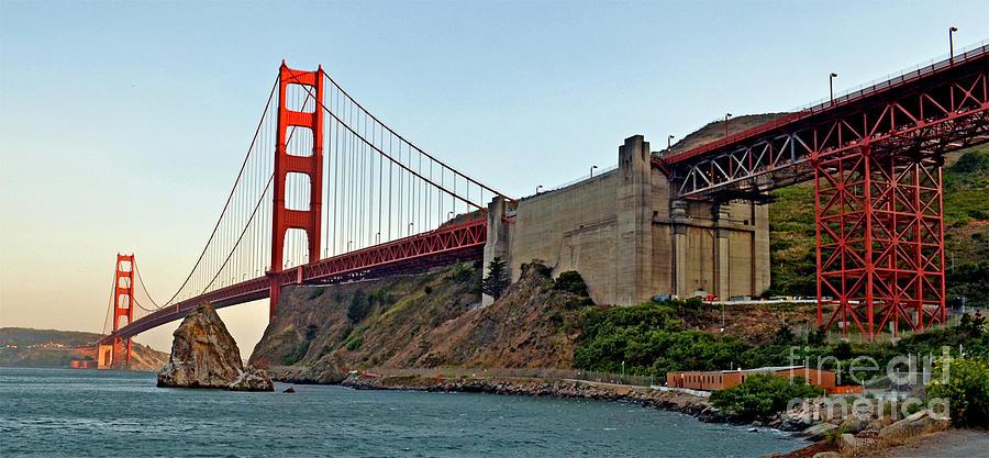 The Golden Gate Bridge  Photograph