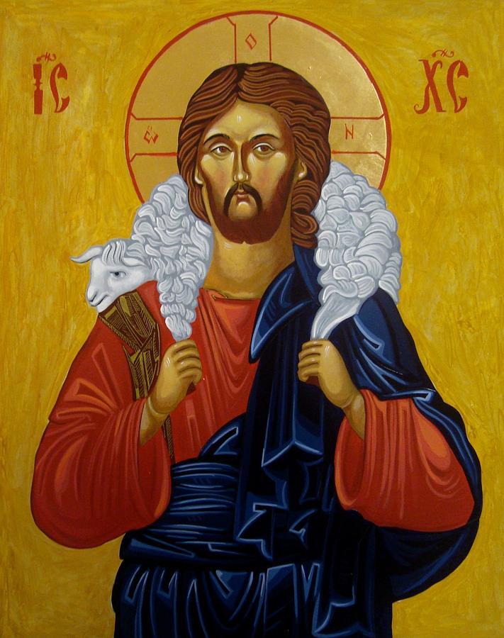Jesus Painting - The Good Shepherd by Joseph Malham