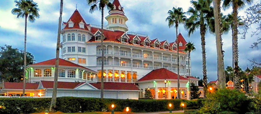 The Grand Floridian Resort 02 Walt Disney World Photograph