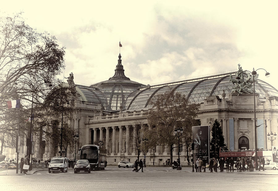 The Grand Palais Paris Photograph