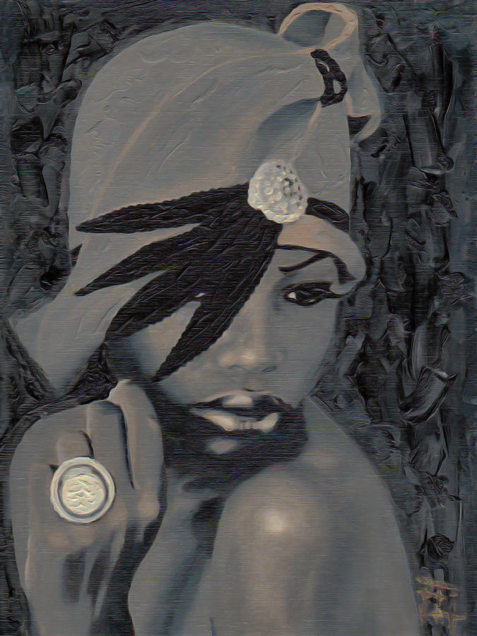 The Gray Hat Painting