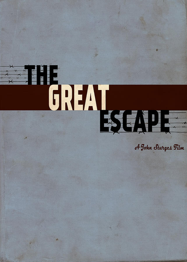 The Great Escape Drawing - The Great Escape by Ayse Deniz