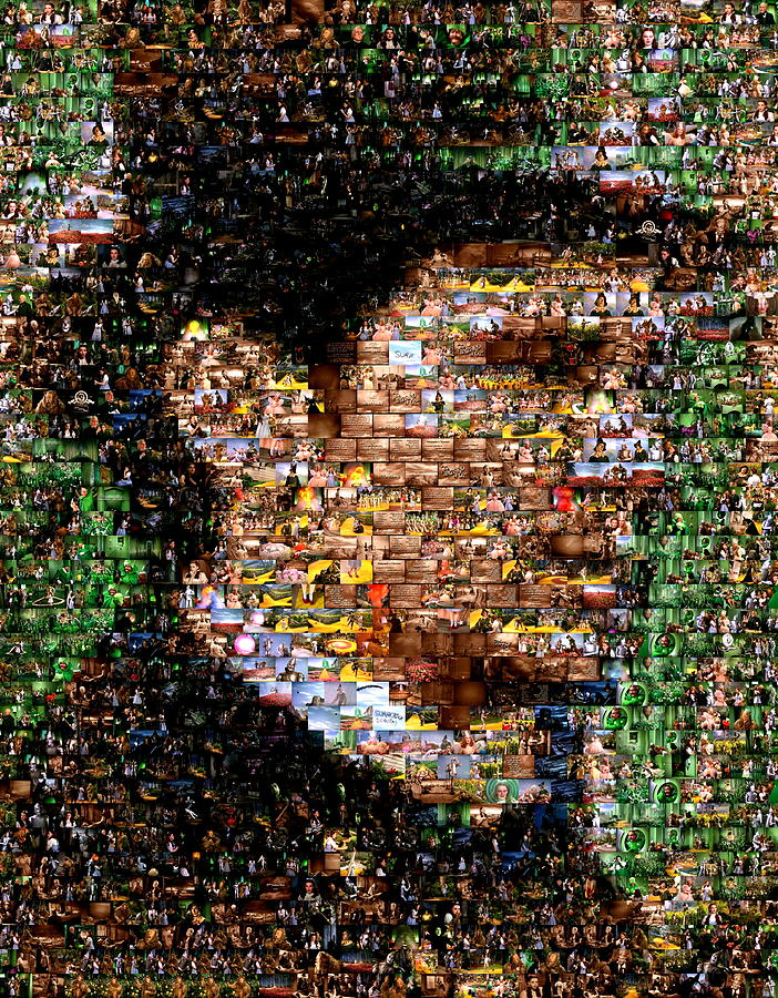 The Great Powerful Mosaic Photograph  - The Great Powerful Mosaic Fine Art Print