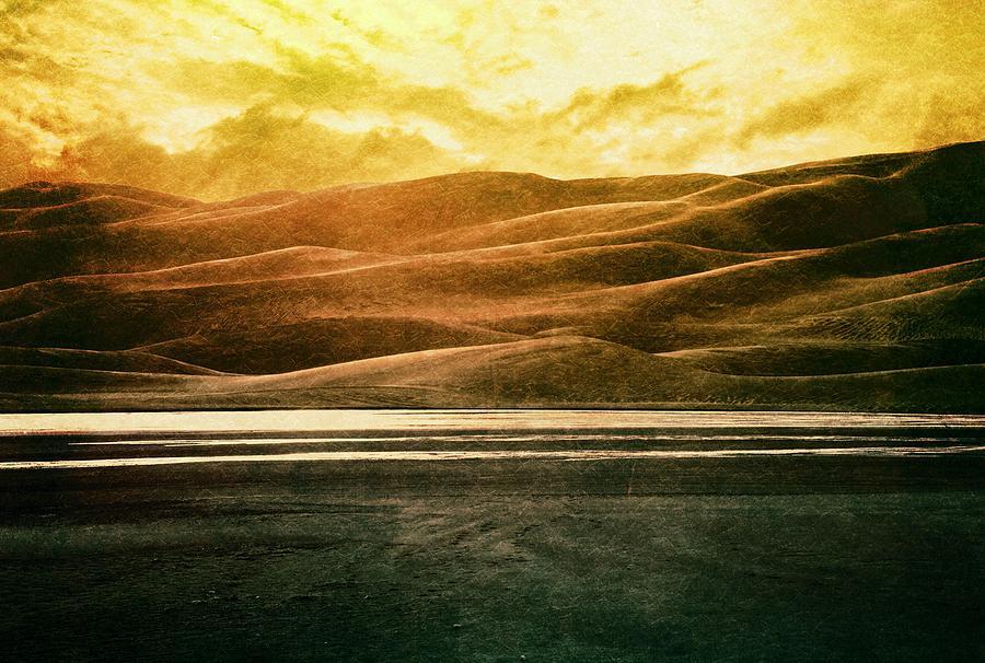 Brett Digital Art - The Great Sand Dunes by Brett Pfister