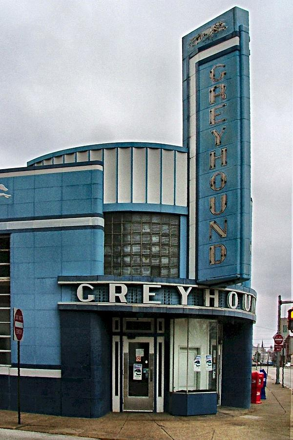 The Greyhound Bus Station Photograph  - The Greyhound Bus Station Fine Art Print