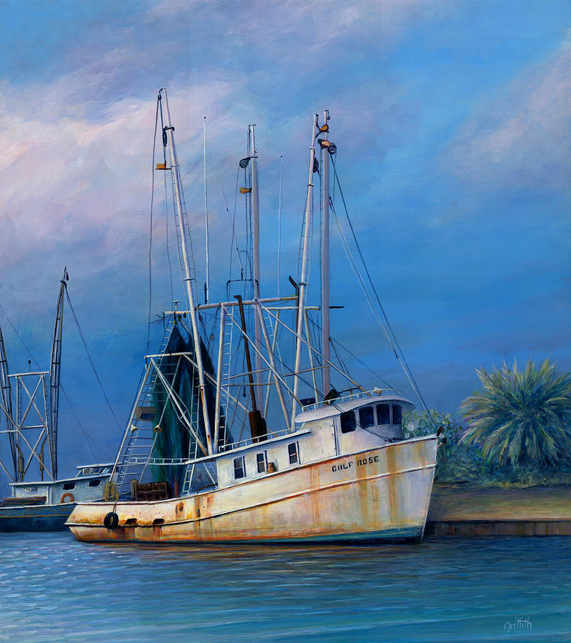 The Gulf Rose Painting  - The Gulf Rose Fine Art Print