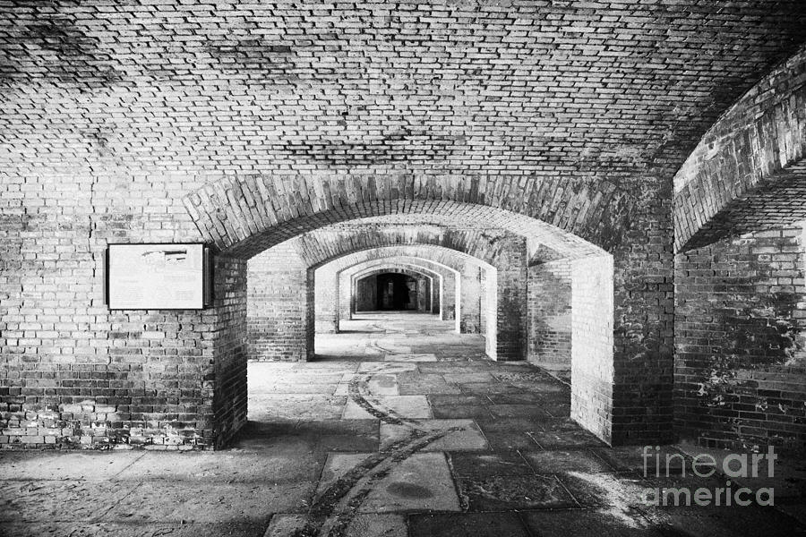 The Gunrooms In Fort Jefferson Dry Tortugas National Park Florida Keys Usa Photograph  - The Gunrooms In Fort Jefferson Dry Tortugas National Park Florida Keys Usa Fine Art Print