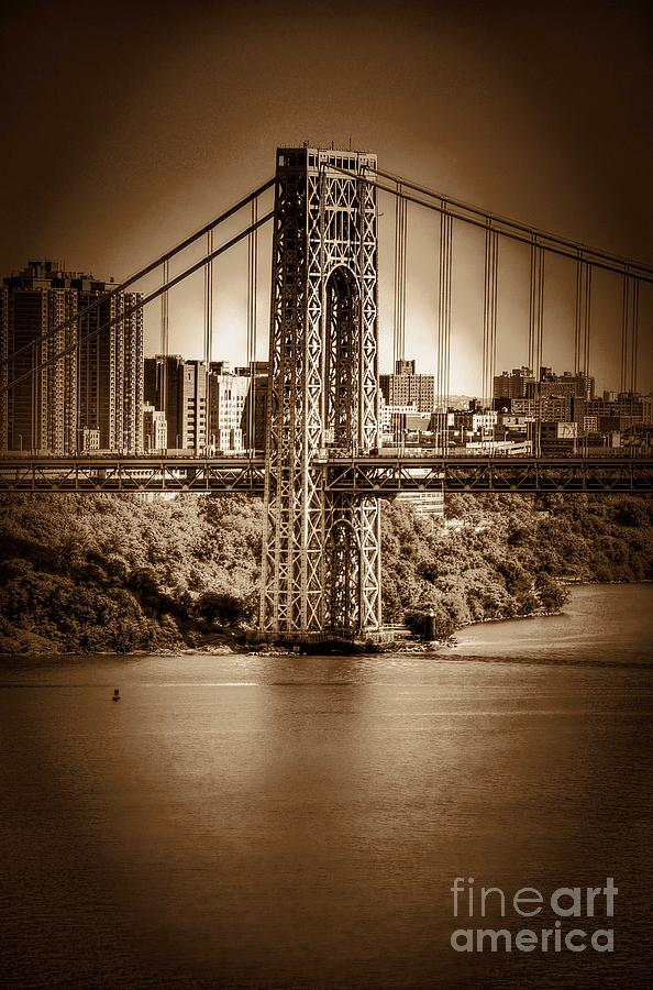 The Gwb Photograph  - The Gwb Fine Art Print
