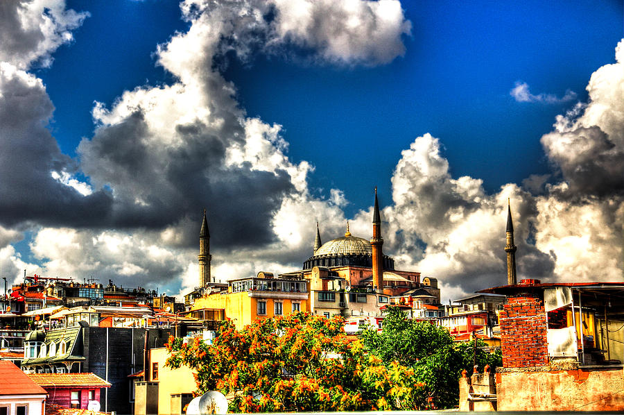 The Hagia Sophia Digital Art  - The Hagia Sophia Fine Art Print