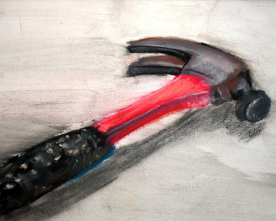Hammer Pastel - The Hammer by Ryan Burton