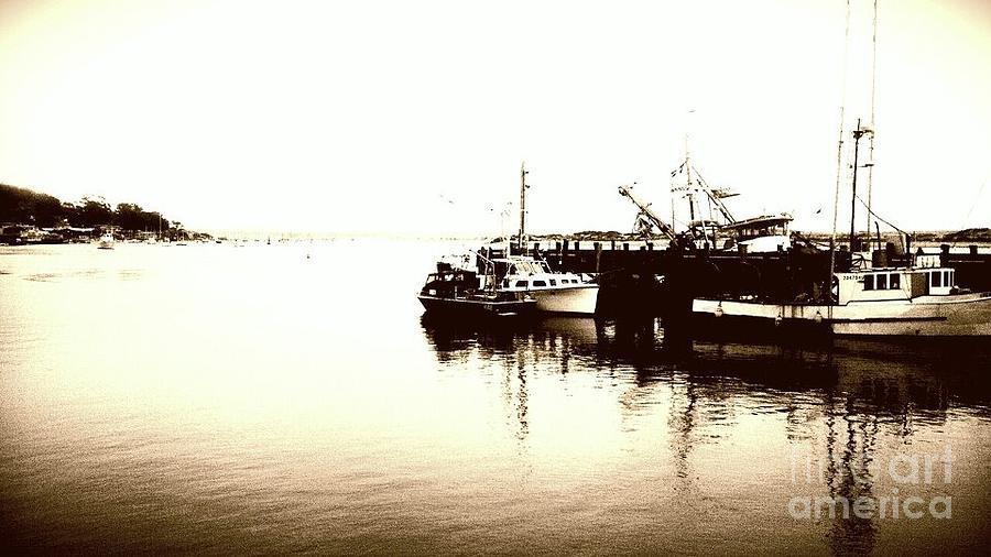 The Harbor. Photograph