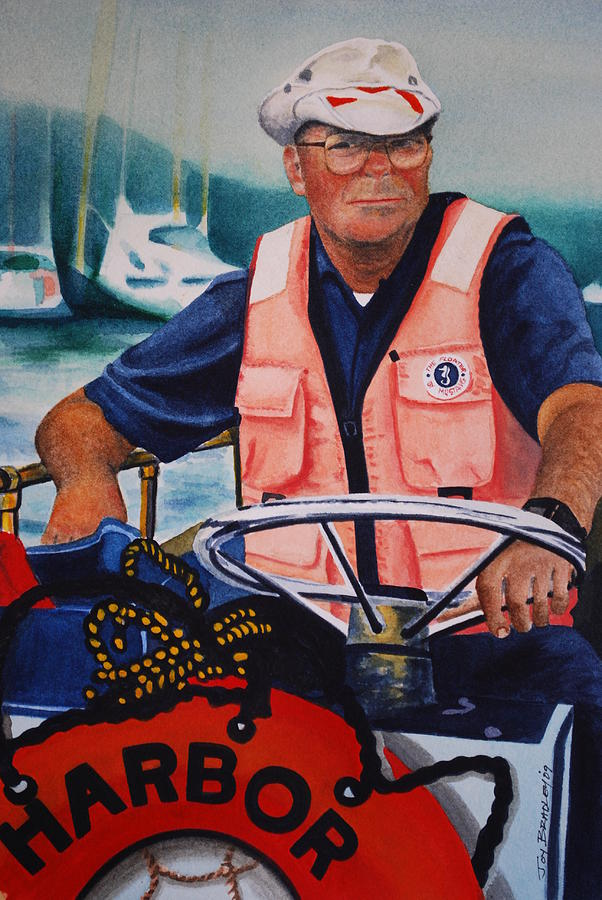 The Harbor Master Painting