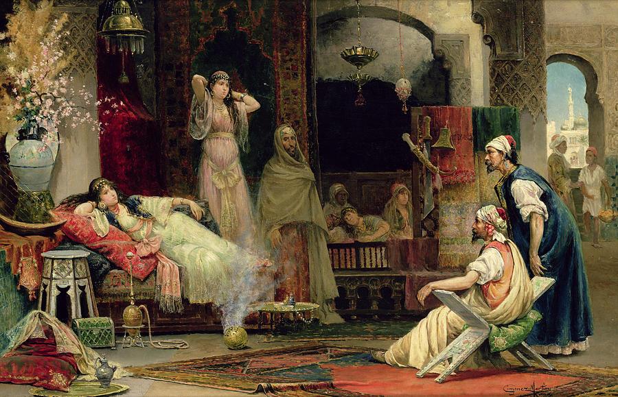 The Harem Painting
