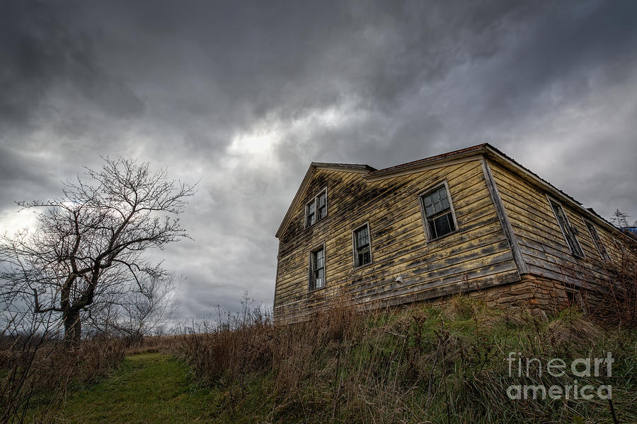 The Haunted Color Photograph  - The Haunted Color Fine Art Print