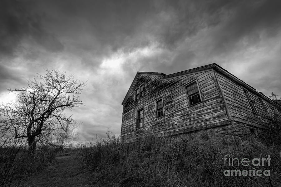 The Haunted Photograph  - The Haunted Fine Art Print
