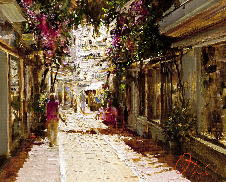 Andalusia Painting - The Heat Of Andalusia by Oleg Trofimoff