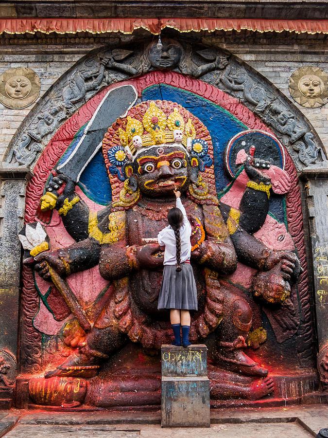 The Hindu God Shiva Photograph