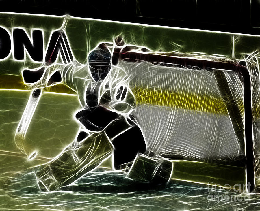The Hockey Goalie Photograph  - The Hockey Goalie Fine Art Print