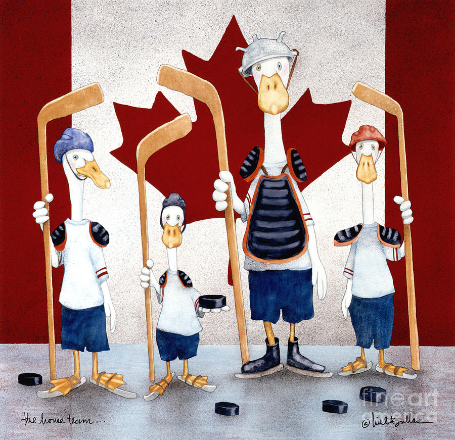 Will Bullas Painting - The Home Team... by Will Bullas