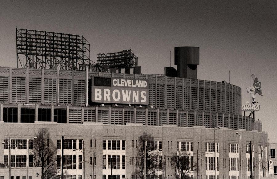 Cleveland Photograph - The Hometeams by Kenneth Krolikowski