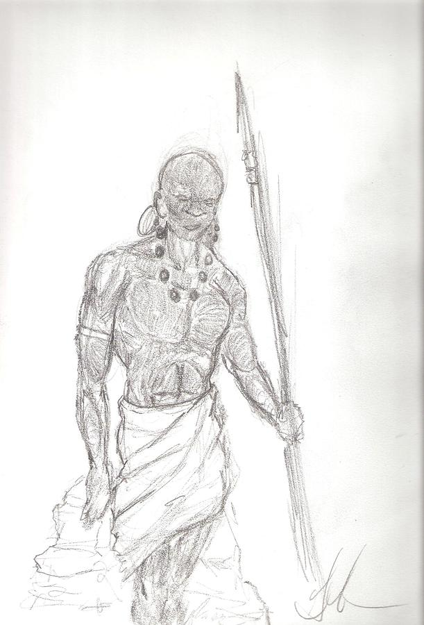 The Hunt Drawing