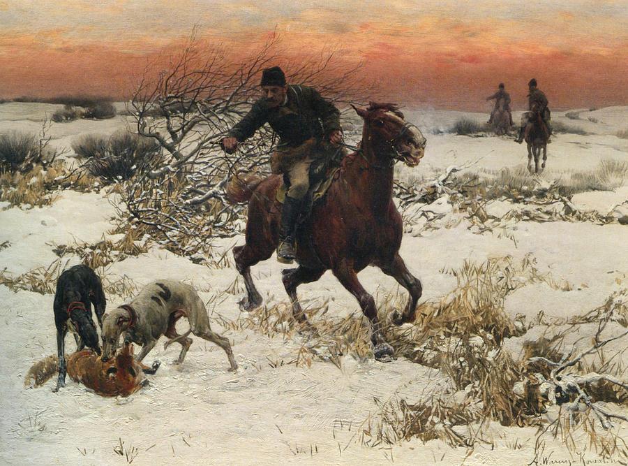 The Hunters Digital Art