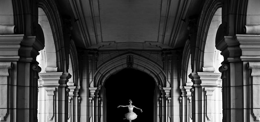 Architecture Photograph - The Incredible Lightness Of Being by Larry Butterworth