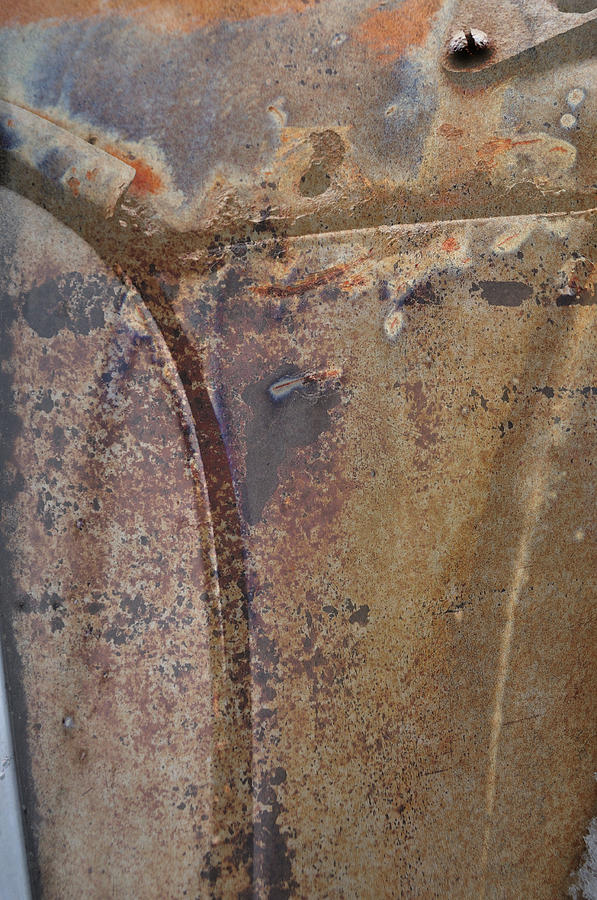 Rust Photograph - the Intersection by Fran Riley
