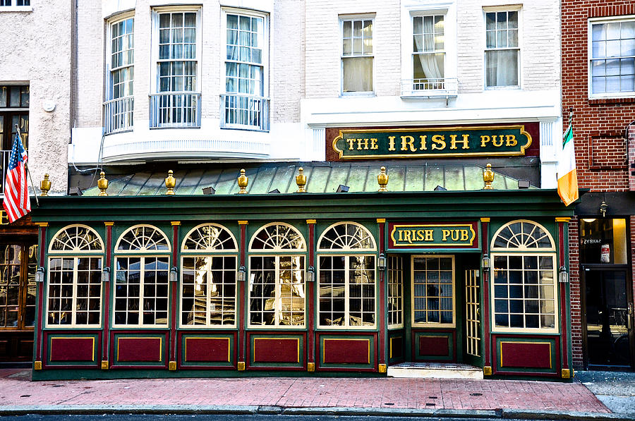 The Irish Pub - Philadelphia Photograph  - The Irish Pub - Philadelphia Fine Art Print
