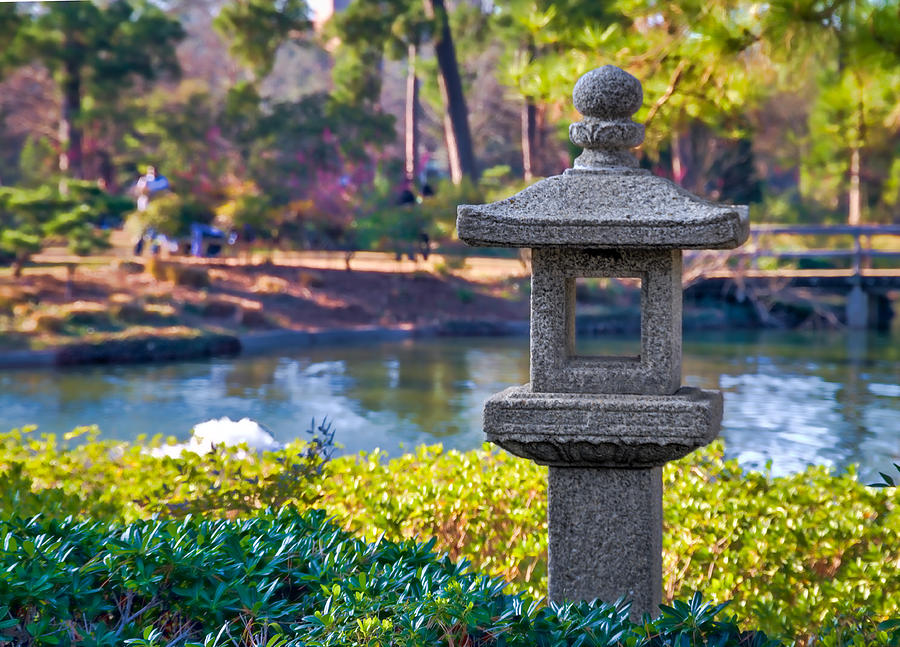 The Japanese Garden At Hermann Park Photograph By Tim Stanley