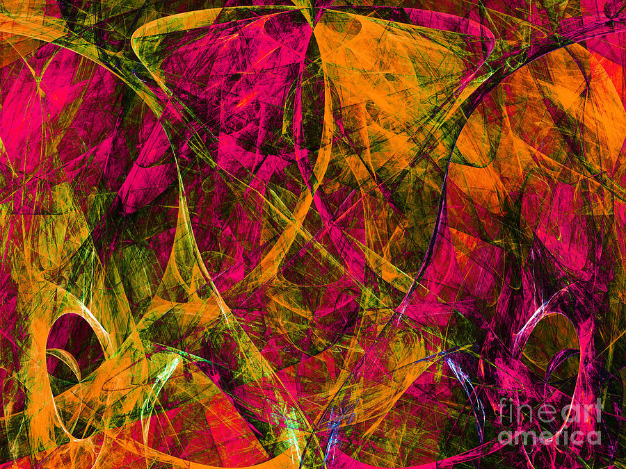 The Jester 20130510 Digital Art  - The Jester 20130510 Fine Art Print
