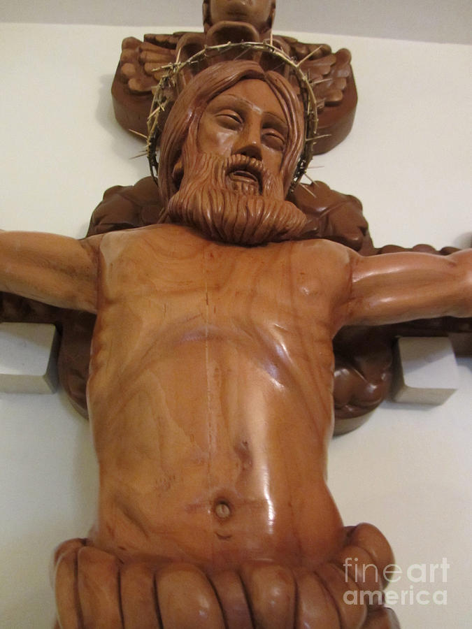 The Jesus Christ Sculpture Wood Work Wood Carving Poplar Wood Great For Church 4 Sculpture