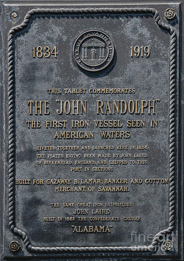 The John Randolph Photograph